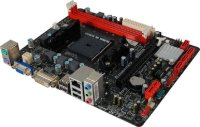 Biostar A58MD Ver. 6.0 AMD A55 Micro-ATX Mainboard Sockel...