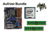 Aufrüst Bundle - ASUS P6T + Intel Core i7-975 + 12GB RAM...