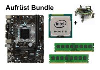 Aufrüst Bundle - MSI B150M PRO-VD D3 + Intel Core i3-6300...