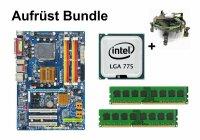 Aufrüst Bundle - Gigabyte P35-DS3L + Intel E8500 +...