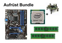 Aufrüst Bundle - MSI Z68A-G43 + Intel Core i3-2105 + 8GB...