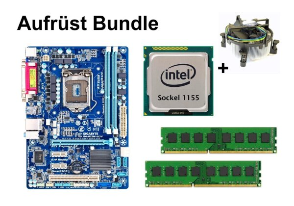 Aufrüst Bundle - Gigabyte B75M-D3V + Intel Core i5-2300 + 4GB RAM #143640