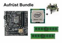 Aufrüst Bundle - ASUS B150M-C + Intel Core i3-6300 +...