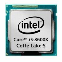 Intel Core i5-8600K (6x 3.60GHz) Coffee Lake-S SR3QU...