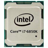 Intel Core i7-6850K (6x 3.60GHz) SR2PC CPU Sockel 2011-3...
