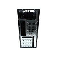 ATX PC Gehäuse MidiTower USB 2.0  schwarz   #300138