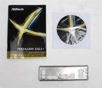 ASRock FM2A68M-DG3+ Rev.1.03 - Handbuch - Blende -...