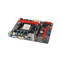 Biostar A75MG AMD A75 Mainboard Micro ATX Sockel FM1...