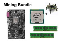 Mining Bundle - ASRock H81 Pro BTC + Intel Core i7-4790 +...