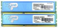 Patriot 4 GB (2x2GB) PSD34G1333KH DDR3-1333 PC3-10600...