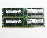 Crucial 32 GB (2x16GB) CT16G4RFD4213 DDR4-2133 PC4-17000R...