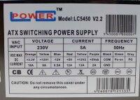 LC-Power LC5450 V2.2 ATX Netzteil 450 Watt   #301798