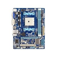 Gigabyte GA-A55M-DS2 Rev.2.2 AMD A55 Mainboard Micro ATX...