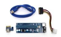 PCIe 1x auf 16x Riser Karte Adapter PCE164P-N03 Mining...