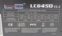 LC-Power LC6450 V2.2 ATX Netzteil 450 Watt 80+  #303113
