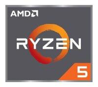 AMD Ryzen 5 1600 (6x 3.20GHz) YD1600BBM6IAE Sockel AM4...