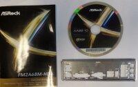 ASRock FM2A68M-HD+ Rev.1.03 - Handbuch - Blende - Treiber...