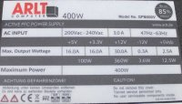 ARLT GPM400V ATX Netzteil 400 Watt  #304953