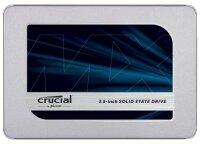 Crucial MX500 1 TB 2.5 Zoll SATA-III 6Gb/s...
