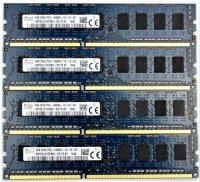 Hynix 16 GB(4x4GB) HMT351R7EFR8C-RD DDR3-1866 PC3-14900R...