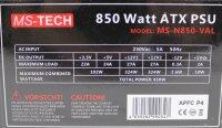 MS-Tech MS-N850-VAL ATX Netzteil 850 Watt   #305997