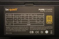 Be Quiet Pure Power L8-CM 630W (BN182) ATX Netzteil 630...