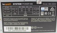Be Quiet System Power B9 ATX Netzteil 300 Watt 80+...