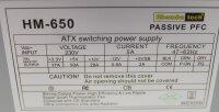 Rhombutech HM-650 ATX Netzteil 650 Watt   #306152