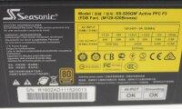 Seasonic SS-520GM ATX Netzteil 520 Watt modular 80+...