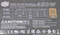 Cooler Master G450M ATX Netzteil 450 Watt 80+ modular...