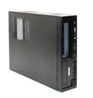 Exone Desktop Micro ATX PC Gehäuse Desktop USB 2.0...