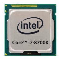 Intel Core i7-8700K (6x 3.70GHz) SR3QR CPU Sockel 1151...
