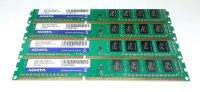 ADATA 8 GB (4x2GB) AD3X1333C2G9-BHYZ DDR3 1333-PC3-10600...