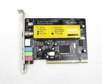 X4-Tech Vision analoger TV-Tuner Karte PAL I / BG, FM PCI...