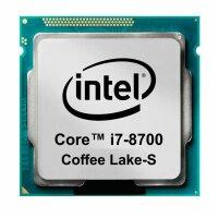 Intel Core i7-8700 (6x 3.20GHz) SR3QS CPU Sockel 1151...