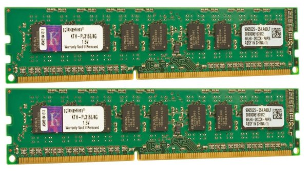 Kingston 8 GB (2x4GB) KTH9600C/4G DDR3-1600 PC3-12800   #307523
