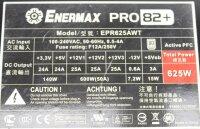 Enermax Pro 82+ EPR625AWT ATX Netzteil 625 Watt 80+...