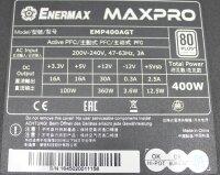 Enermax MaxPro EMP400AGT ATX Netzteil 400 Watt 80+   #307719