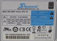 Seasonic SS-750HT ATX Netzteil 750 Watt 80+   #309218