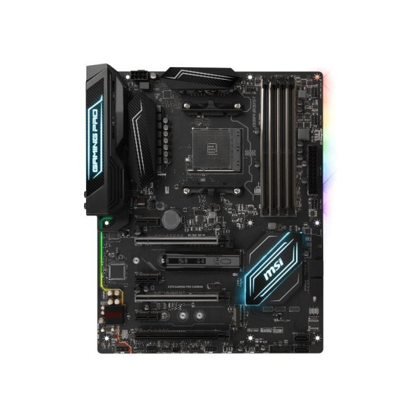 MSI X370 Gaming Pro Carbon MS-7A32 Ver 1.1 Mainboard ATX Sockel AM4 #309713