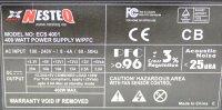 NesteQ ECS 4001 ATX Netzteil 400 Watt modular   #309846