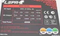 Lepa N400 ATX Netzteil 400 Watt (N400-SA-EU)   #310119