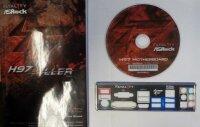 ASRock Fatal1ty H97 Killer - Handbuch - Blende - Treiber...