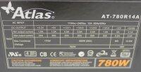 Super Flower Atlas AT-780R14A ATX Netzteil 780 Watt...