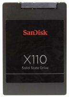 SanDisk X110 256 GB 2.5 Zoll SATA-III 6Gb/s SD6SB1M-256G...