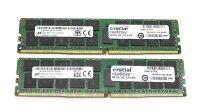 Micron 32 GB (2x16GB) DDR4-2133 reg PC4-2133P...