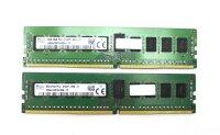 SK Hynix 16 GB (2x8GB) DDR4-2133 reg PC4-17000R...