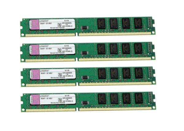 Kingston ValueRAM KVR 8 GB (4x2GB) DDR3-1333 PC3-10667 KVR1333D3N9/2G   #311681