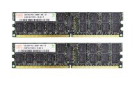 Hynix 8 GB (2x4GB) DDR2-667 reg ECC PC2-5300R...
