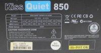 Kiss Quiet Series KS-850W ATX Netzteil 850 Watt    #312494